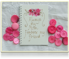 Adornment - Notebook - mum/my friend